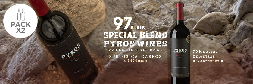 Pack x 2: Pyros Special Blend 2014