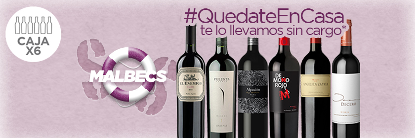 Pack x6: Mix de Malbec